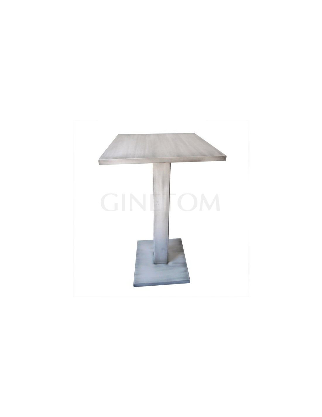 Mesas de madera alta ref 852 mesas hosteler a ginetom - Mesas para hosteleria ...