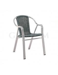 Silla Hosteleria Aluminio PE