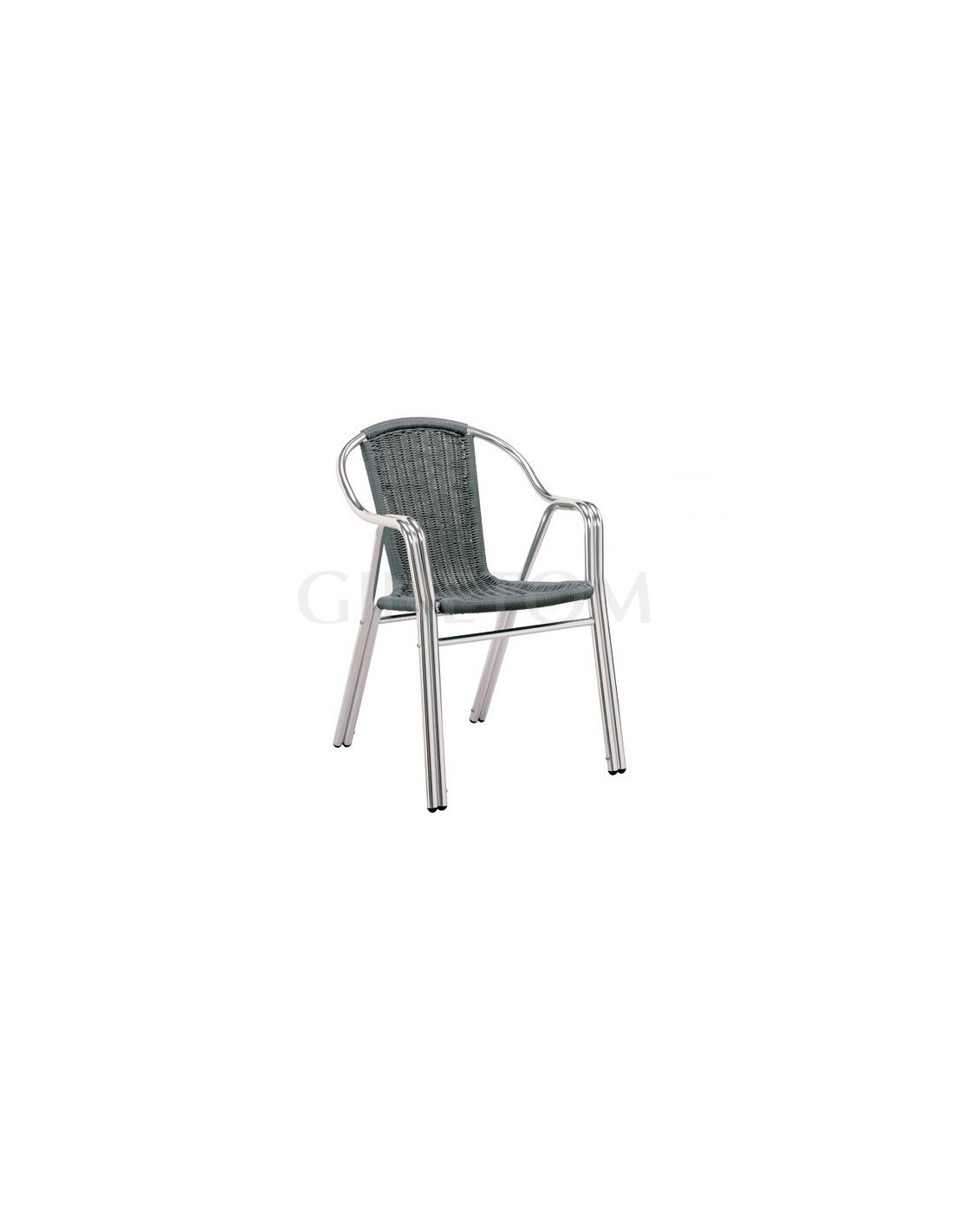 Silla de aluminio pe especial hosteleria - Sillas de aluminio ...