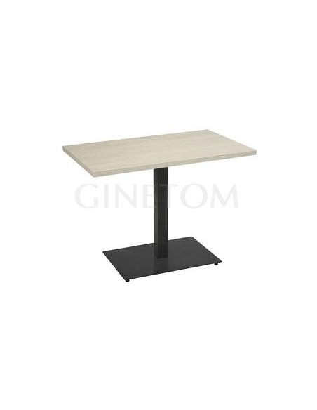 mesa hosteleria acero valencia 2 base 75x45