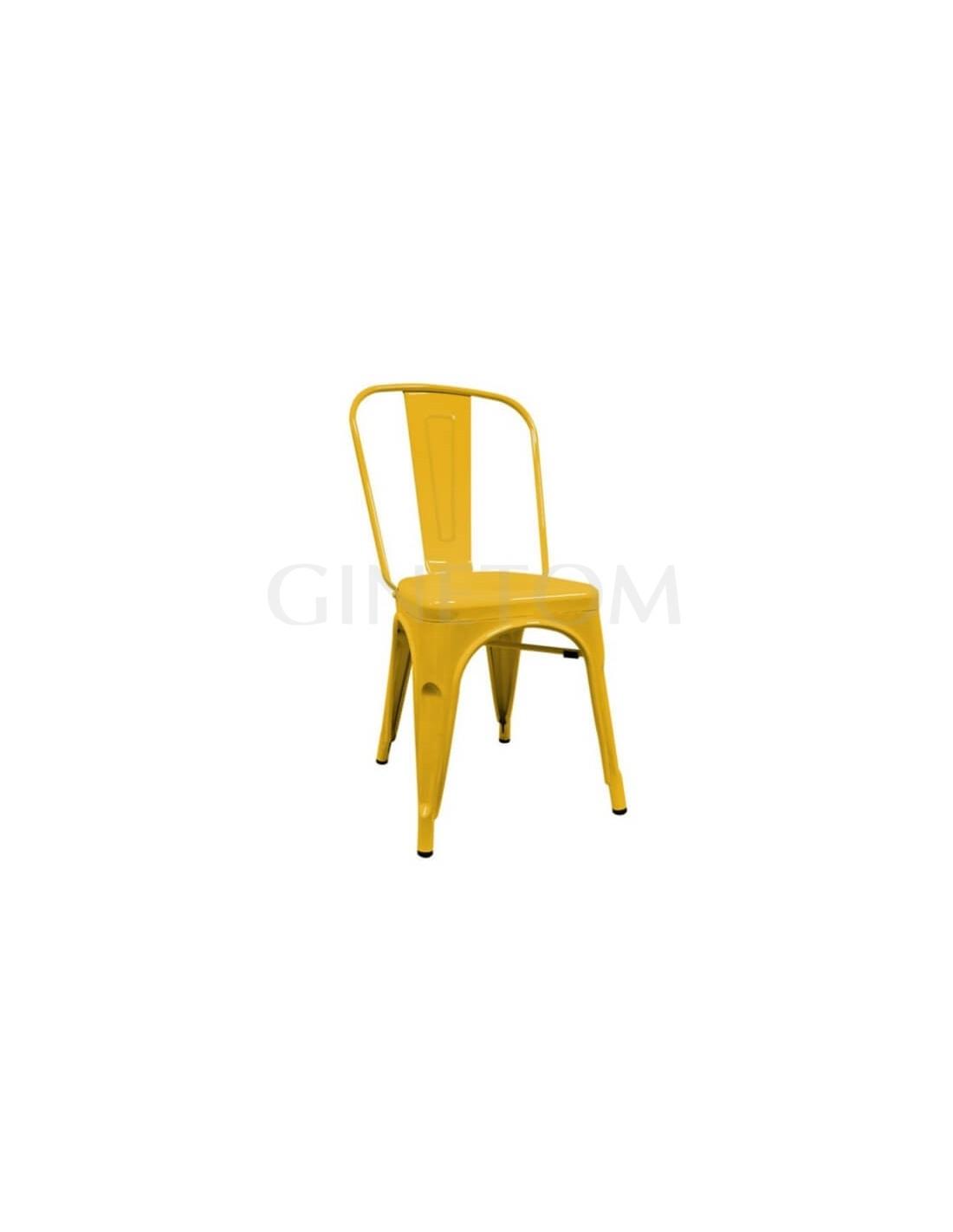 Silla hosteleria tolix replica mobiliario para hosteleria - Silla tolix ...