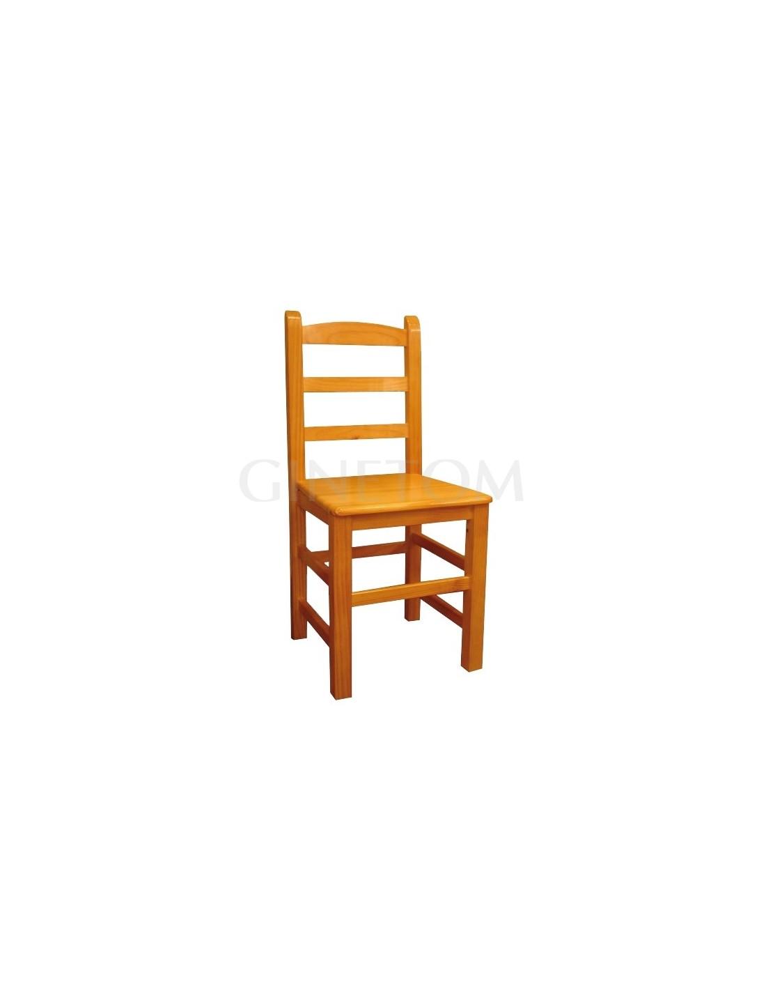 Sillas de madera ref 140 sillas hosteler a de ginetom for Sillas hosteleria