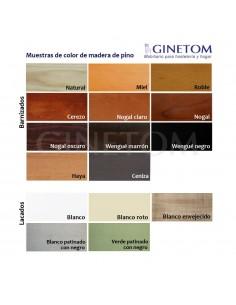Colores madera ginetom