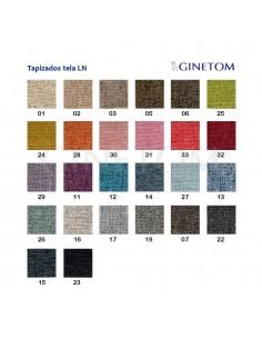 Colores tapizado tela ginetom