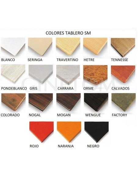 Colores Tableros SM Ginetom