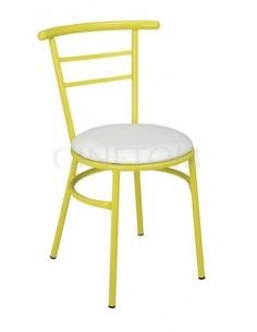 Silla clasica amarillo