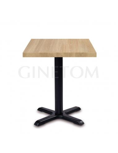Mesa pie central pequeño Siena para bares y restaurantes