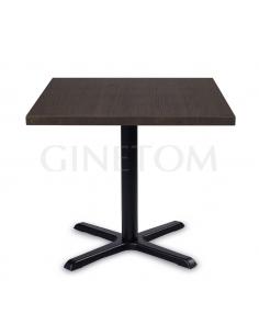 Mesa pie central grande Siena para bares y restaurantes