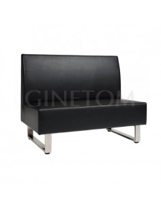 Sofa tapizado Palermo 120 cm para bares y restaurantes