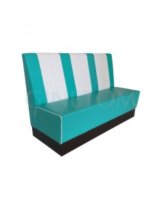 Sofa Tapizado Murcia con zocalo melamina