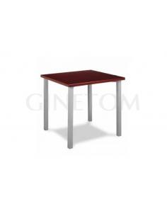 Mesa 4 patas cuadradas eco