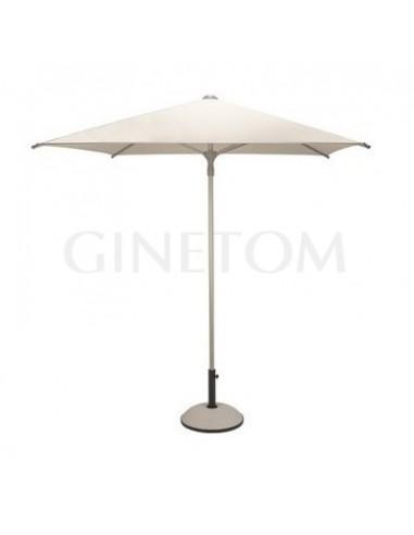 Parasol 7505 + base7720 para terrazas de bares y restaurantes
