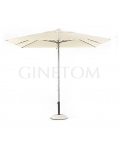 Parasol 7580 + base 7720 para terrazas de bares y restaurantes