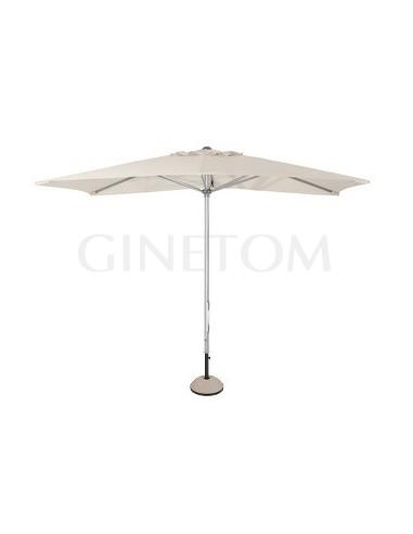 Parasol 7570 + base 7720 para bares y restaurantes