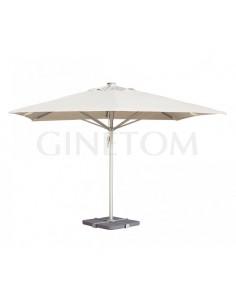 Parasol 7520 con base 7730 para terrazas de bares o restaurantes