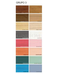 Colores madera Ginetom JOIB GRUPO 3