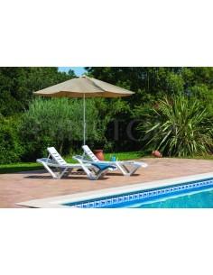 Tumbona Master Resol para jardines y piscinas