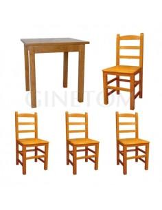 Pack 10: Mesa de madera REF...
