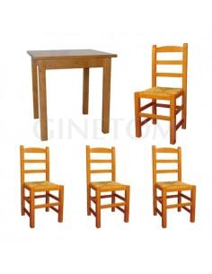 Pack 11: Mesa de madera REF...