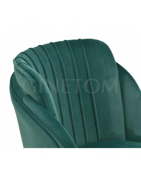 Silla Velvet Glamm color Verde