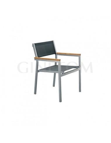 Sillas hosteleria aluminio mobiliario hosteleria for Sillas hosteleria