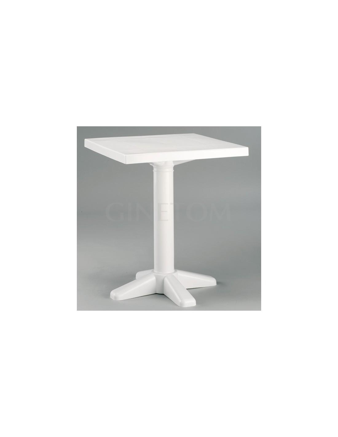 Mesa para jard n empuries ginetom mobiliario para for Mesa plastico jardin