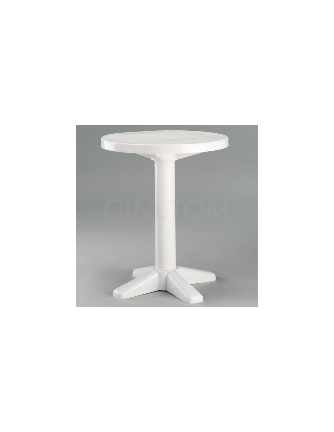 Mesa para jard n banyoles ginetom mobiliario para for Mobiliario jardin plastico