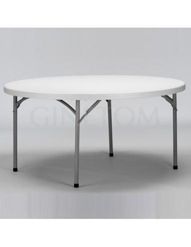 Mesa Catering Redonda 180 cm- 9 comensales.