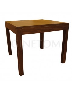 Mesa de madera ref 710 vertice para bares y restaurantes