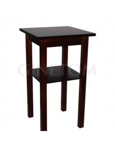 Mesa alta de madera con tablero apoyo ref 725