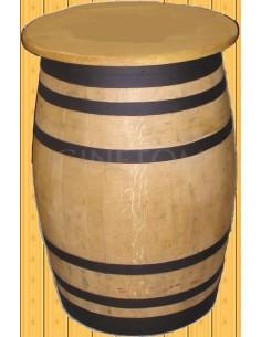 Barrica de madera tapa 70 cm