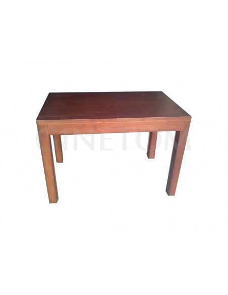Mesa de madera ref 710 vertice rectangular para bares y restaurantes
