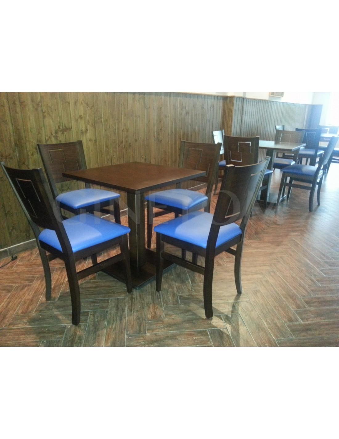 Mesas de madera ref 850 mesas hosteler a ginetom - Mesas para hosteleria ...