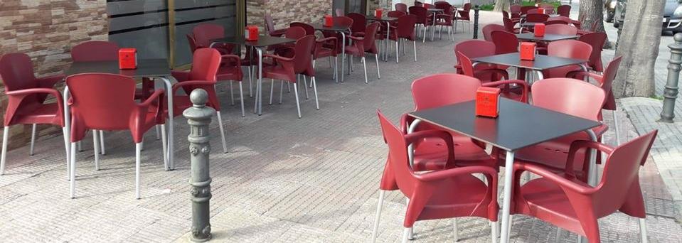 Sillas y mesas para terrazas